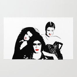 The Rocky Horror Picture Show   Don't dream it, be it!   Pop Art Rug