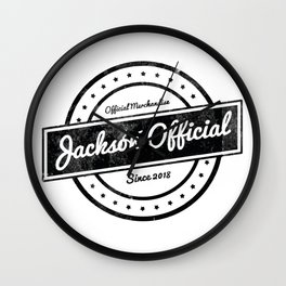 Jackson Official Wall Clock