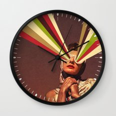 Rayguns Wall Clock