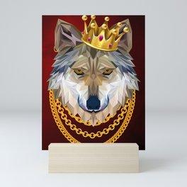 The King of Wolves Mini Art Print