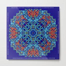 """""""Snowflakes"""" series #8 Metal Print"""