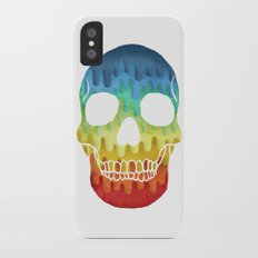 Paper Skull iPhone X Slim Case