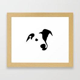 Whippet Dog Breed Framed Art Print