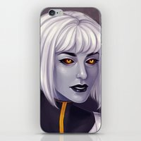 android iPhone & iPod Skins featuring Android by twinklepowderysnow