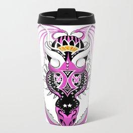 Bubblegum Dragon  Metal Travel Mug