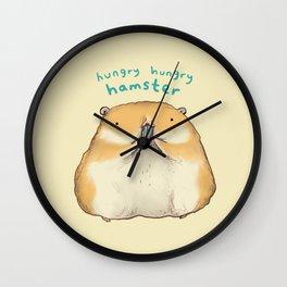 Hungry Hungry Hamster Wall Clock