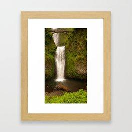 Lower Falls, Multnomah Falls Framed Art Print