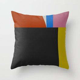 Mid Century Modern Vintage 12 Throw Pillow