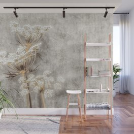 French Country Queen Anne's Lace Wall Mural