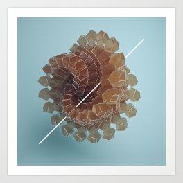 Sugar swirl Art Print