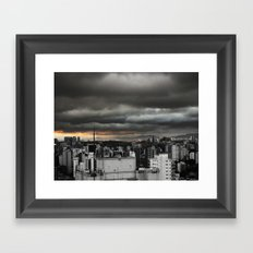 Dark Sky SP Framed Art Print