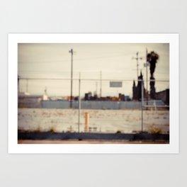 in focus. iv Art Print