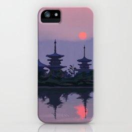 Yakushiji at Sunset iPhone Case