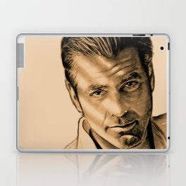 George Clooney Laptop & iPad Skin