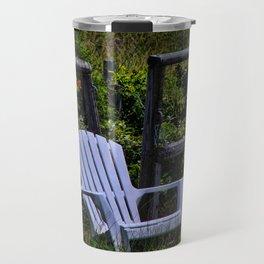 Beach hideaway Travel Mug