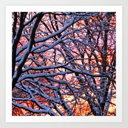 """""""Fire and Ice"""" Art Print"""