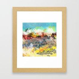 A Less Ordinary Landscape Framed Art Print
