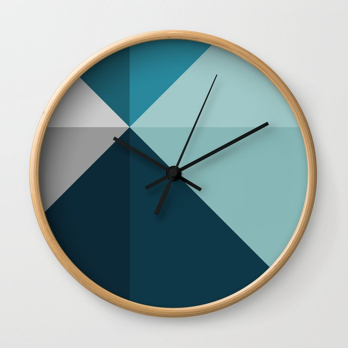 Geometric 1702 Wall Clock