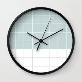#c5d7d7 Wall Clock