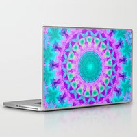 kaleidoscope Laptop & iPad Skins featuring Kaleidoscope by Sylvia Cook Photography