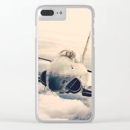 T-33 up close Clear iPhone Case