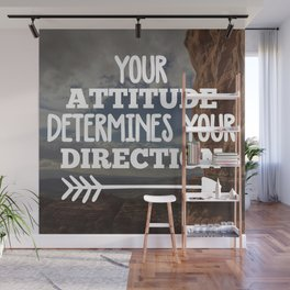 Your Direction Life Quote Wall Mural