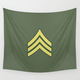 Sergeant (OD Green) Wall Tapestry