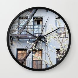 Brooklyn Spring Wall Clock