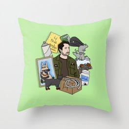 Charlie Kelly Throw Pillow