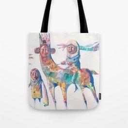 colour nomads Tote Bag