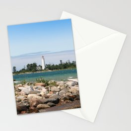 Beach with a view Stationery Cards