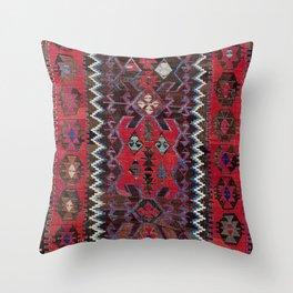Obruk Konya Turkish  Antique Kilim Rug Throw Pillow