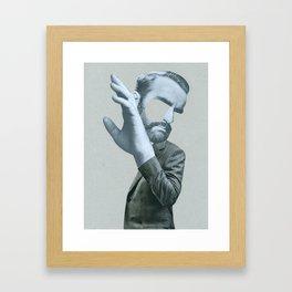 Sigmund in denial Framed Art Print