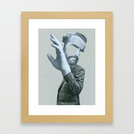 Sigmund in denial Framed Art Print