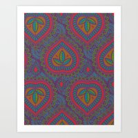 decorative Art Prints featuring Decorative by Aimee St Hill