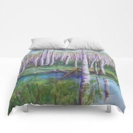 Crossing the Swamp WC151101-12 Comforters