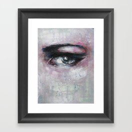 Quiet-Colored End of Evening Framed Art Print