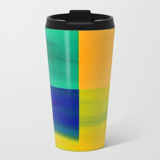 Color-emotion II Metal Travel Mug