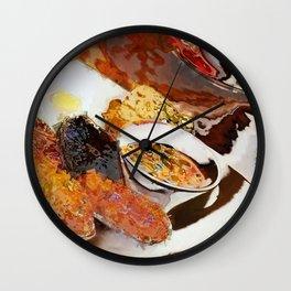 English Breakfast abstract Wall Clock