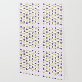 Crazy Daisies Wallpaper