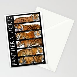 Tiger of Asia Stationery Cards