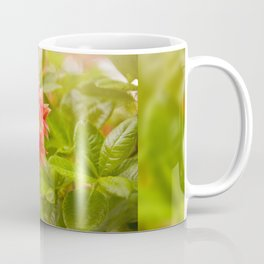 Rhododendron called Azalea red flowers Coffee Mug