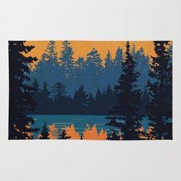 Algonquin Park Poster Rug