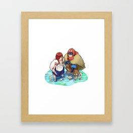 Jerza - Princess Mononoke Framed Art Print