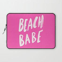 Beach Babe x Flamingo Pink Laptop Sleeve