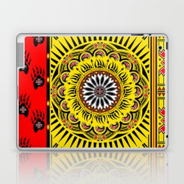Sun Bear Laptop & iPad Skin