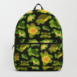 Red-eared slider (dark) Backpack