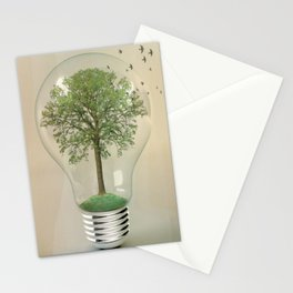 green ideas Stationery Cards