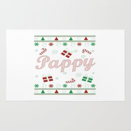 Pappy Christmas Rug
