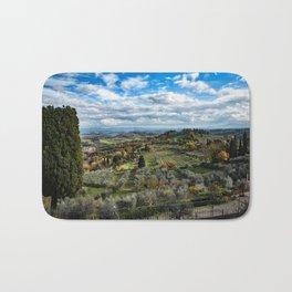 Tuscan Landscape Bath Mat